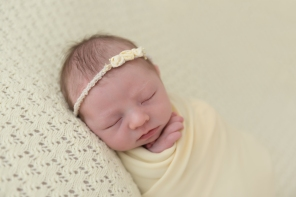 baby girl spring yellow wrap